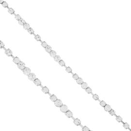 Bransoletka - jednorzędowe kryształki - BRA1356