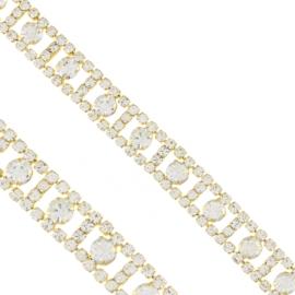 Bransoletka z kryształkami - BRA1362
