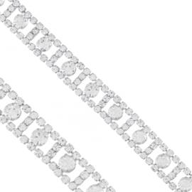 Bransoletka z kryształkami - BRA1363