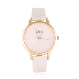 Zegarek damski na wytłaczanym pasku - Z1047