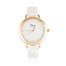 Zegarek damski na wytłaczanym pasku - Z1048