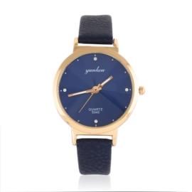 Zegarek damski na granatowym pasku - Z1052