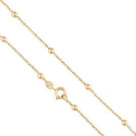 Łańcuszek z kulkami - 50cm - Xuping - LAP1571