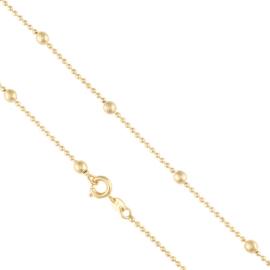 Łańcuszek z kulkami - 50cm - Xuping - LAP1576
