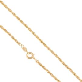 Łańcuszek kordel - 45cm - Xuping - LAP1581