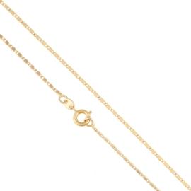 Łańcuszek płaski - 45cm - Xuping - LAP1582