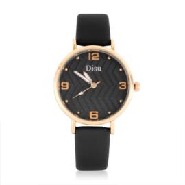 Zegarek damski na czarnym pasku - Z1057