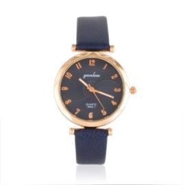 Zegarek damski na granatowym pasku - Z1060