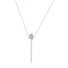 Naszyjnik z kryształkami - CP2280