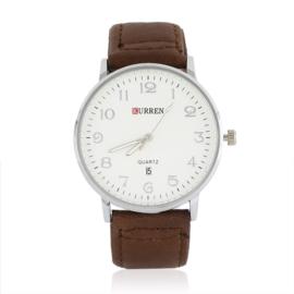 Zegarek męski - brązowy - Z1070