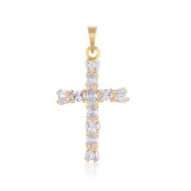 Przywieszka - kryształowy krzyżyk - Xuping PRZ2115