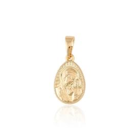 Medalik prawosławny dwustronny - Xuping PRZ2118