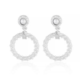 Kolczyki z perełkami - Xuping - EAP10775