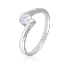 Pierścionek klasyczny zaręczynowy - Xuping PP2068