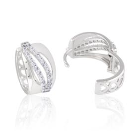 Kolczyki z kryształkami - Xuping - EAP10803