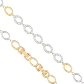 Bransoletka z kryształkami - Xuping BP4592