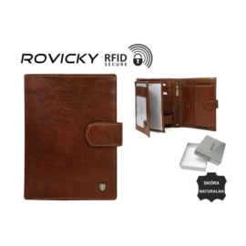 Portfel męski - n4L-RVT Brown - P867