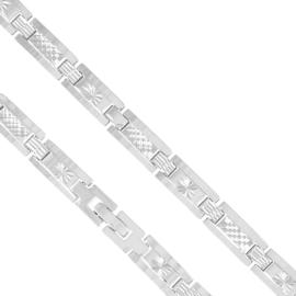 Bransoletka z tłoczonym wzorem - Xuping - BP4606