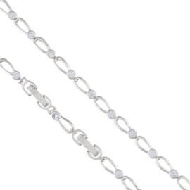 Bransoletka delikatna - kryształki - Xuping BP4607