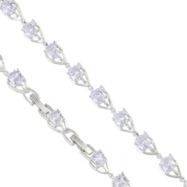 Bransoletka z kryształkami - Xuping - BP4609