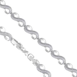 Bransoletka infinity- nieskończoność Xuping BP4614