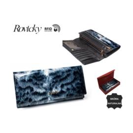 Portfel damski skórzany - 8805-PTR BLACK P926