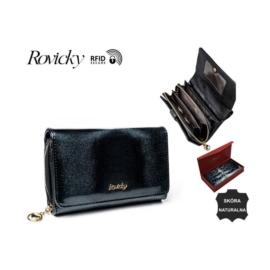 Portfel damski skórzany - 8806-MIR Black P930