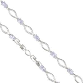 Bransoletka z kryształkami - Xuping BP4665