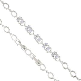 Bransoletka z kryształkami - Xuping BP4666