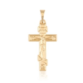 Przywieszka krzyżyk prawosławny Xuping PRZ2149