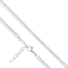 Bransoletka podwójna - crystals Xuping BP4747