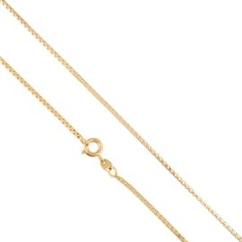 Łańcuszek kostka 50cm - Xuping LAP1628