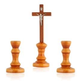 Komplet kolędowy - drewniany - JC82