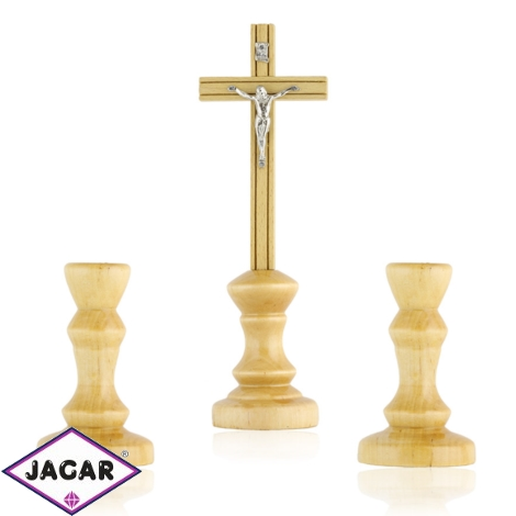 Komplet kolędowy - drewniany - JC83