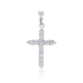 Przywieszka krzyżyk z kryształkami Xuping PRZ2189