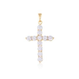 Przywieszka krzyżyk z kryształkami Xuping PRZ2190