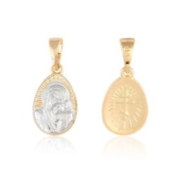 Medalik prawosławny - Matka Boska - Xuping PRZ2215
