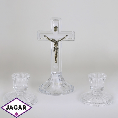 Komplet kolędowy - szklany - JC84