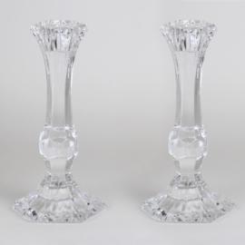 Świeczniki - szklane - wys. 17cm - JC85