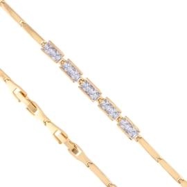Bransoletka z kryształkami Xuping BP4927