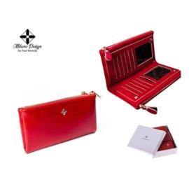 Portfel damski z ekoskóry- SF1843 Red - P992