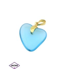 Przywieszka - serce - 3,3cm - ZAW13