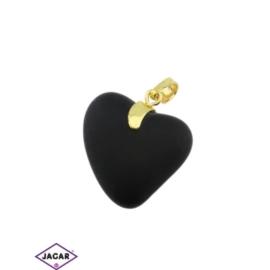 Przywieszka - serce - 3,4cm - ZAW18