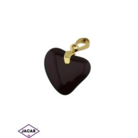 Przywieszka - serce - 3,2cm - ZAW22