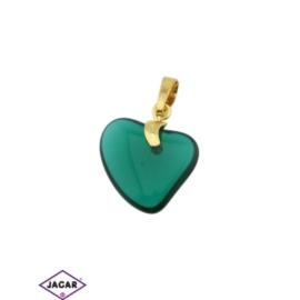 Przywieszka - serce - 3cm - ZAW23