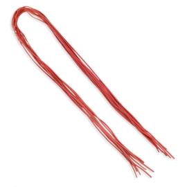 Rzemień koloru jasno czerwonego - 0,2cm - RZE04