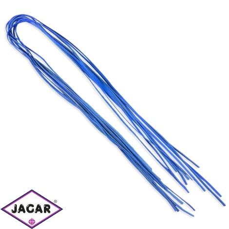 Rzemień koloru niebieskiego - 0,5cm - RZE21