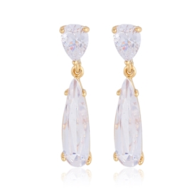 Kolczyki wiszące kryształy Xuping - EAP11429