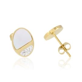 Kolczyki sztyfty z masą perłową Xuping - EAP11432