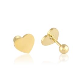 Kolczyki sztyfty wkręcane heart Xuping - EAP11435